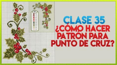 CURSO BORDADO A MANO FÁCIL | CLASE 35 ¿CÓMO HACER PATRON ...