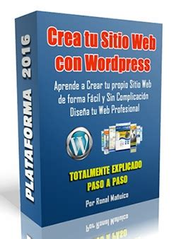 Curso Crear Pagina Web Wordpress