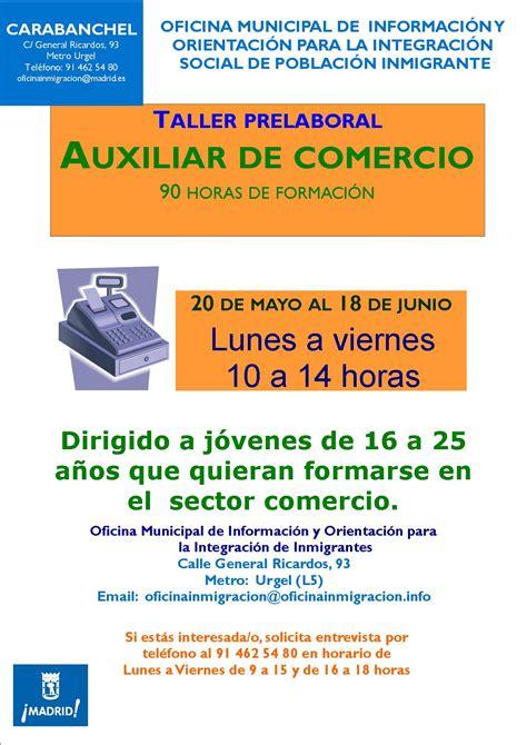Curso de Auxiliar de Comercio en la Oficina de Carabanchel ...
