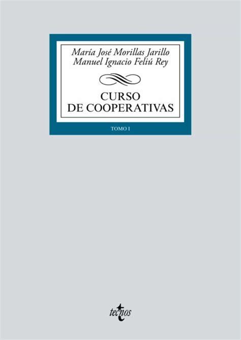 CURSO DE COOPERATIVAS  3ª ED.  de MARIA JOSE MORILLAS ...