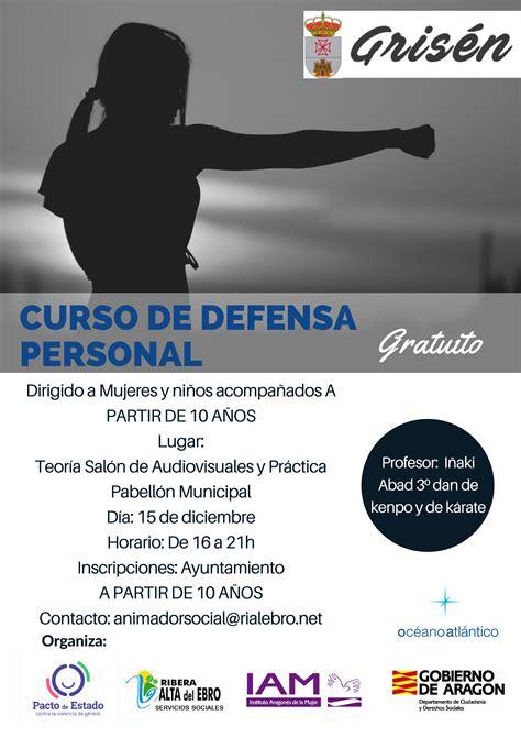 CURSO DE DEFENSA PERSONAL | Grisén