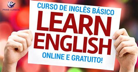 Curso de Inglês Básico Online Grátis   Prime Cursos