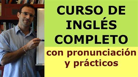 CURSO DE INGLES COMPLETO CON RODRIGO   YouTube