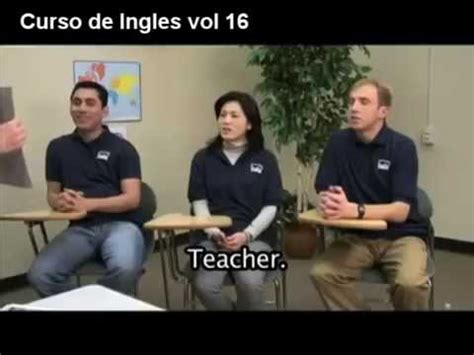 Curso de Ingles gratis completo vol 16   YouTube