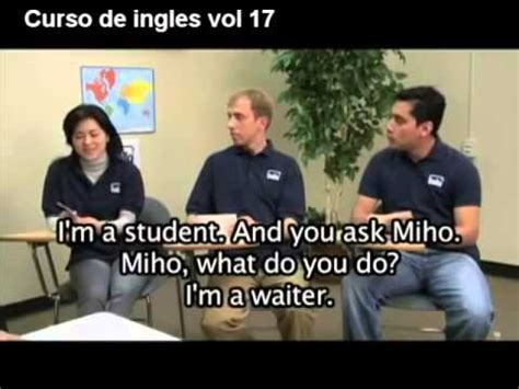 Curso de Ingles gratis completo vol 17   YouTube