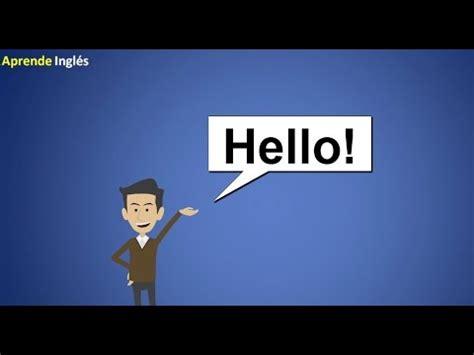 Curso de Ingles para principiantes   YouTube