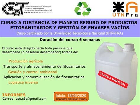 Curso de manejo seguro de productos fitosanitarios y ...