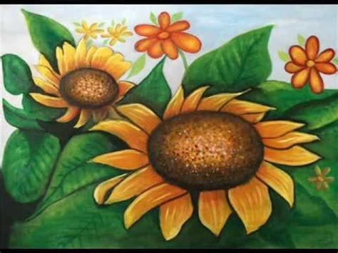 Curso de Pintura al Oleo   FLORES 1   YouTube