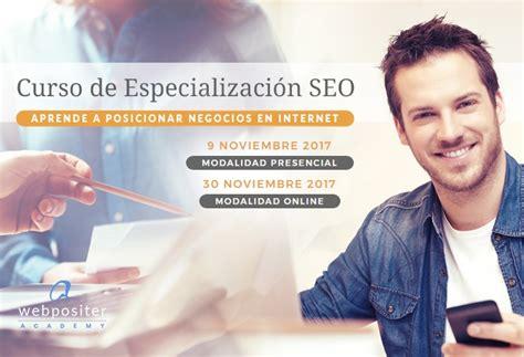 Curso de SEO Especializado  Webpositer Academy