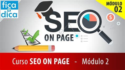 Curso de SEO On Page Descomplicado Otimizando conteúdo com ...