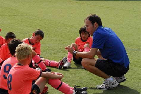 Curso entrenadores FCBEscola   FC Barcelona