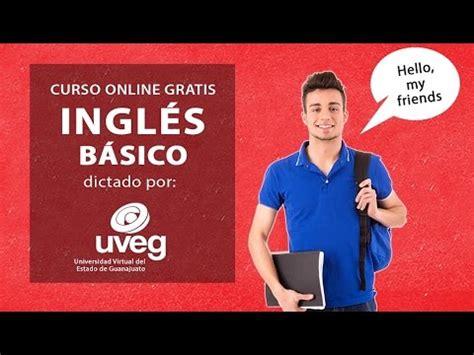 Curso gratis de Inglés del Centro de idiomas UVEG   YouTube