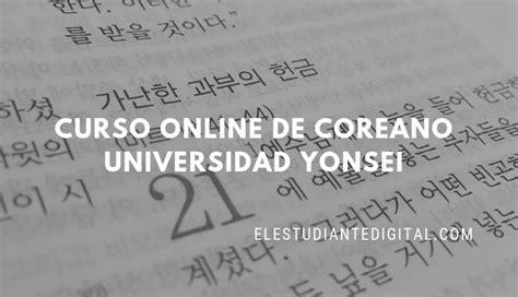 Curso online de idioma Coreano de la Universidad Yonsei ...