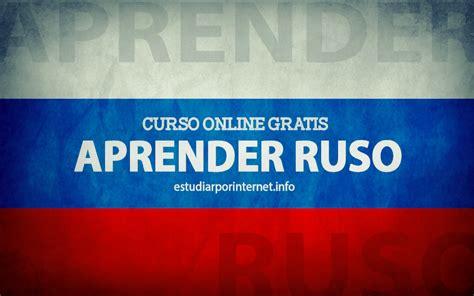 Curso online gratis para aprender ruso  con certificado ...
