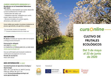 """Curso online: """"Cultivo de frutales ecológicos"""" GVA ⋆ SEAE"""