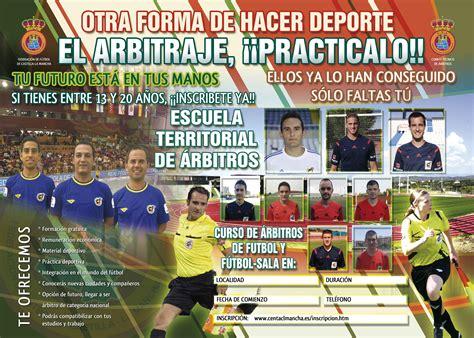 Curso para la formación de árbitros de Fútbol y Fútbol ...