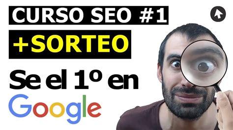 CURSO SEO #1   5 CONCEPTOS DE SEO BÁSICOS + SORTEO   YouTube