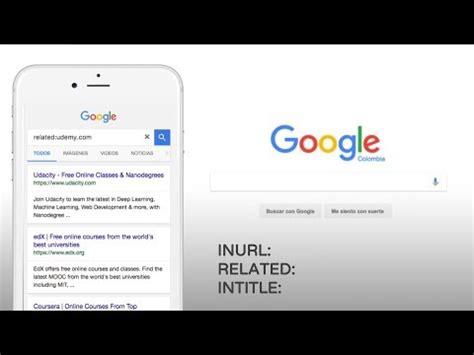 Curso SEO: Buscar como experto en Google: Comandos ...