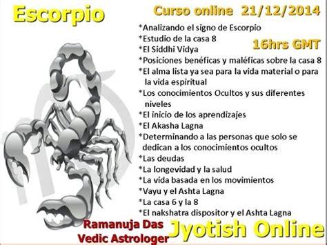 CURSO SIGNO DE ESCORPIO VIDEO 4 Astrología Védica ...