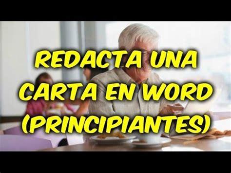 Curso: Word para principiante. Video 01   YouTube  con ...