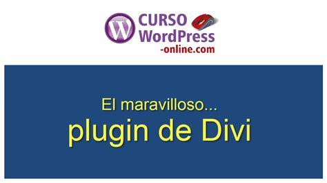 Curso Wordpress: Plugin de Divi de Elegant themes  en ...