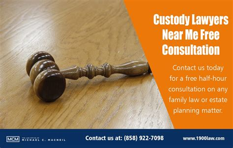 Custody Lawyer Free Consultation | Law Office of Michael C ...