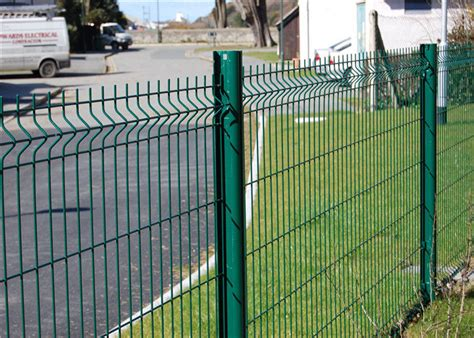 Custom PVC Welded Wire Mesh Fencing 200mm x 50mm For Road ...