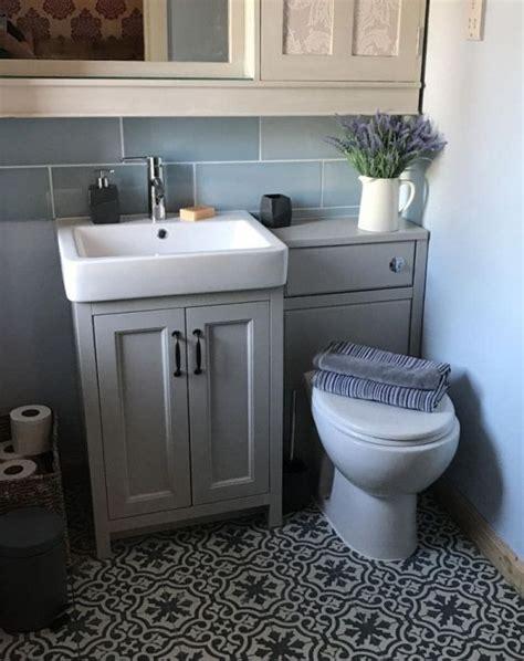 Customer Bathroom Picture   Chatsworth Grey Vanity Unit in ...