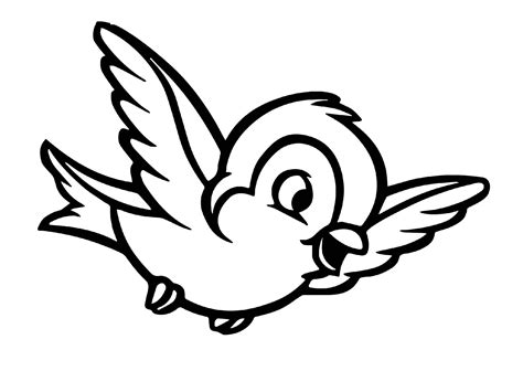 Cute Birds Coloring Pages   Coloring Home