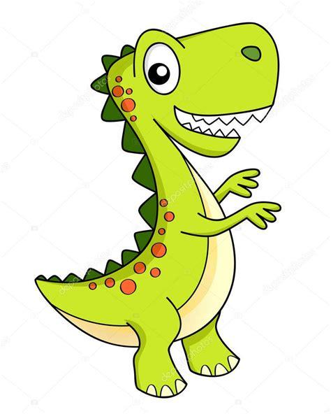 Cute Cartoon Dinosaur Dino — Stock Vector  Alka5051 ...