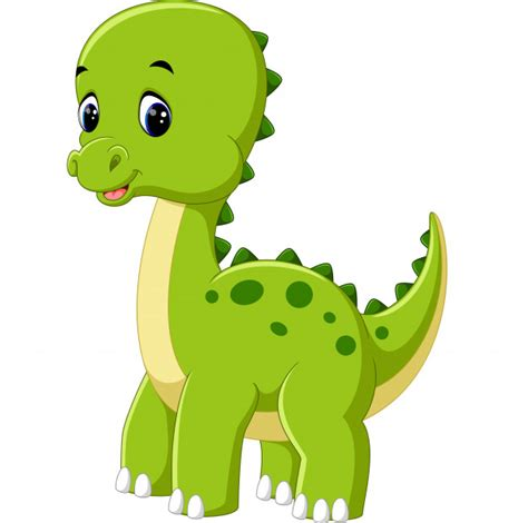 Cute dibujos animados de dinosaurios   Descargar Vectores ...