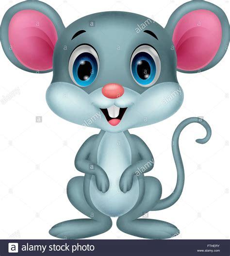 Cute dibujos animados del ratón Imagen Vector de stock   Alamy