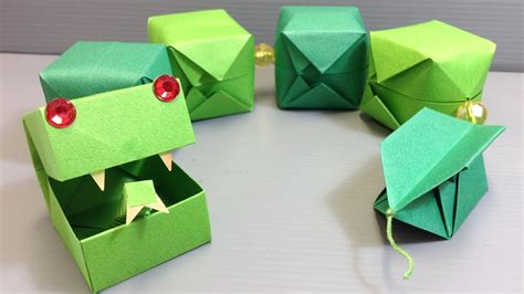 CUTE! Origami Snake Easy Craft Project   YouTube