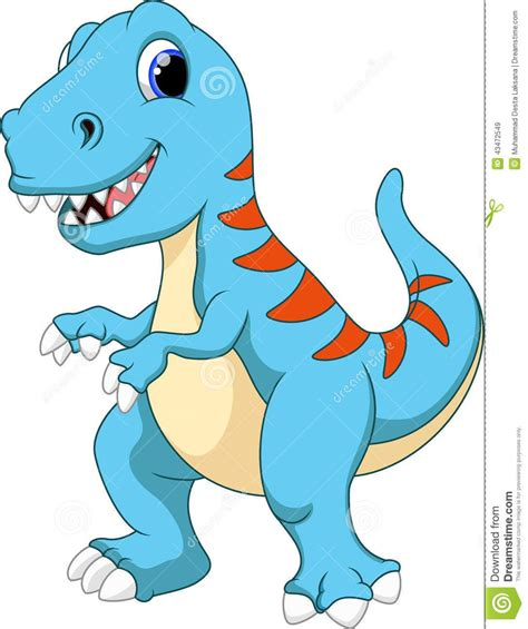 Cute Tyrannosaurus Cartoon   Download From Over 54 Million ...