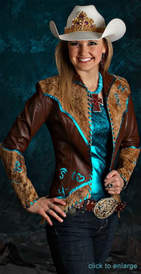 D Anton Leather Rodeo Queen Gallery featuring genuine leather