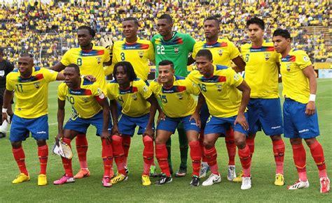 D.CUENCA y futbol mundial: La seleccion de Ecuador ya es ...