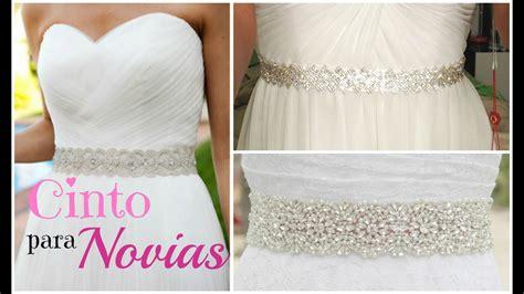 D.I.Y Cinto para Vestidos de Novia o Fiesta | Mirianny de ...