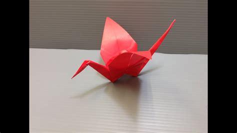 Daily Origami: 001   Crane   YouTube