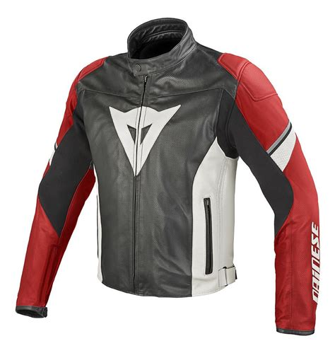 Dainese Airfast Perforated Leather Jacket   RevZilla