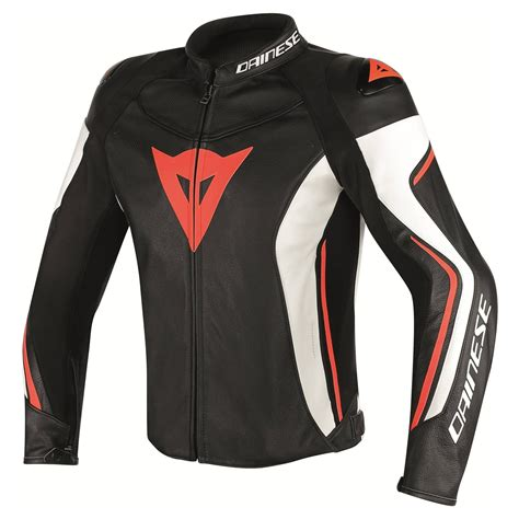 Dainese Assen Perforated Leather Jacket   Leather ...