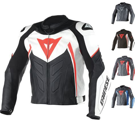 Dainese Avro D1 Leather Motorcycle Jacket   Jackets ...