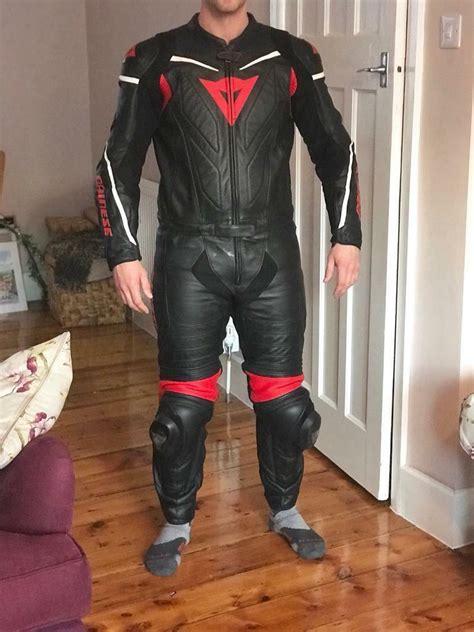 Dainese Laguna Seca D1 2 piece Motorcycle Leather Suit  UK ...