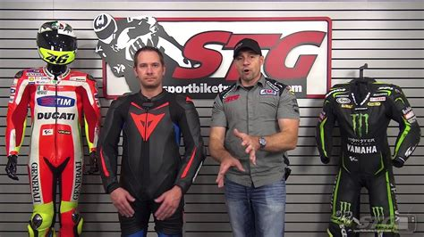 Dainese Laguna Seca D1 Perforated Race Suit Review from ...