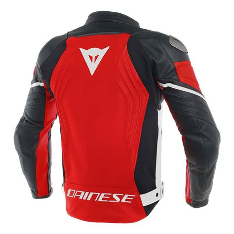 Dainese Racing 3 Leather Jacket Red DA 1533788 751 Jackets ...