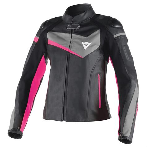 Dainese Veloster Lady Leather Jacket Review: Enveloping ...