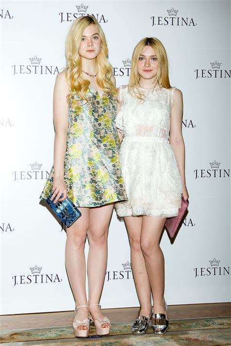 Dakota and Elle Fanning | All in the Family: Our Favorite ...