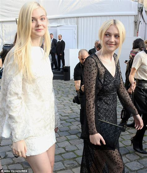 Dakota and Elle Fanning are  growing apart  as sisters ...