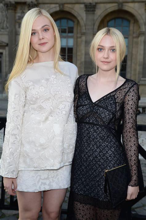 Dakota and Elle Fanning | Celebrity Sisters | POPSUGAR ...