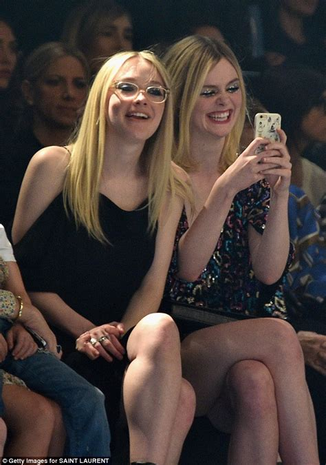 Dakota and Elle Fanning dare to be different at Saint ...