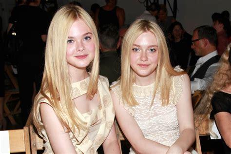 Dakota and Elle Fanning's Sister Beauty Evolution | Teen Vogue